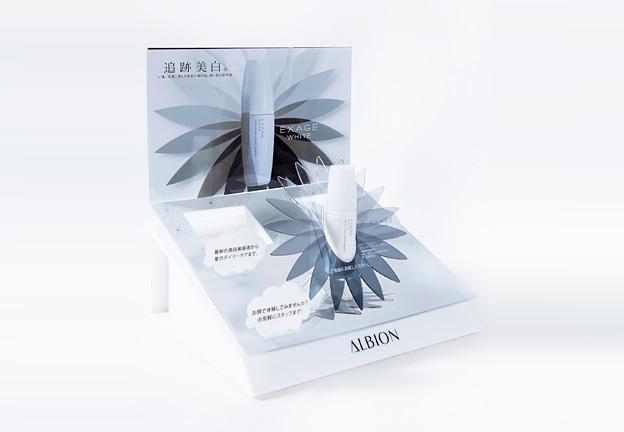 化粧品 什器/アルビオン様 エクサージュ (3)