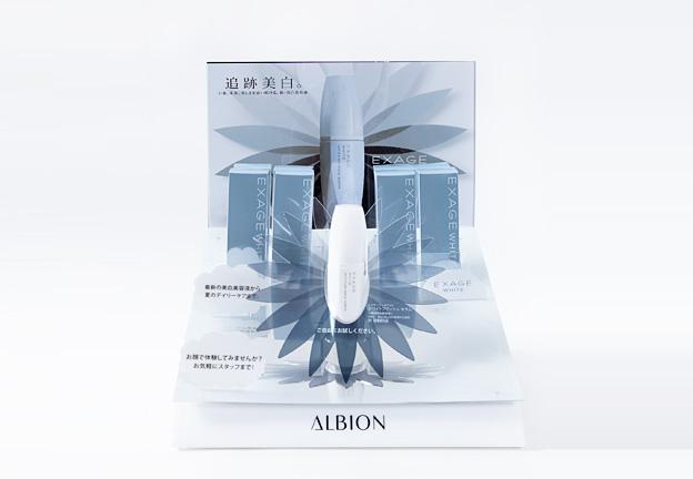 化粧品 什器/アルビオン様 エクサージュ (2)