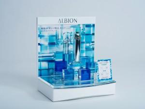 化粧品 什器/アルビオン様