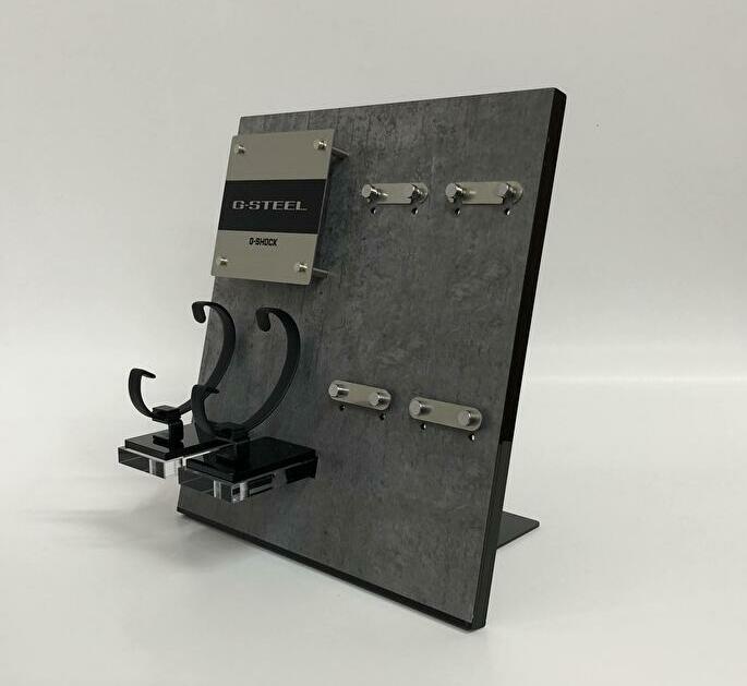 時計 什器/カシオ計算機様 (1)