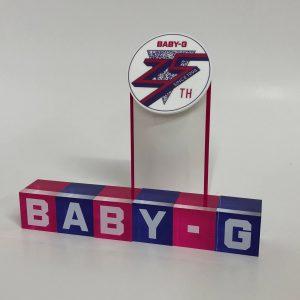 BABY-G 25thツール