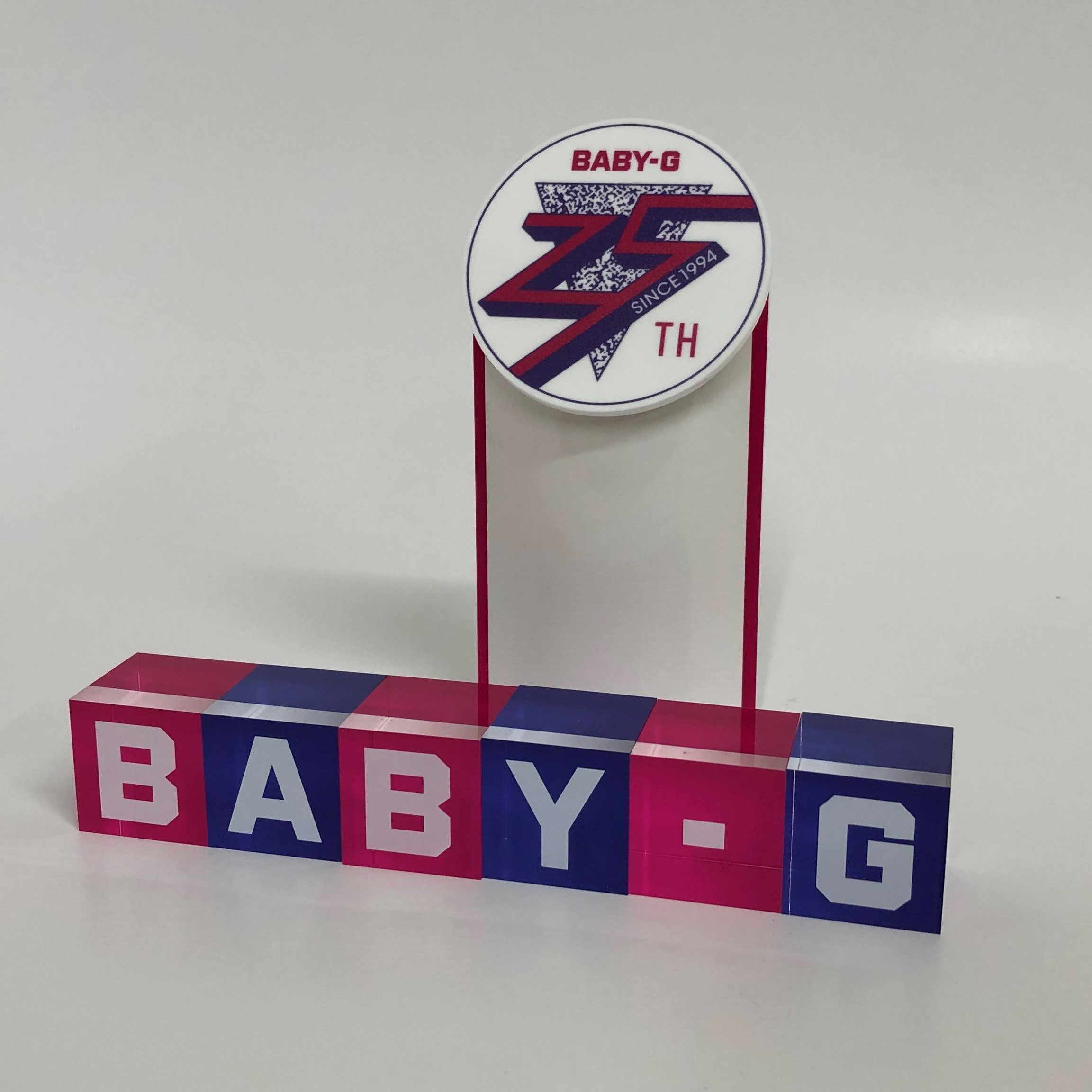 BABY-G 25thツール (1)